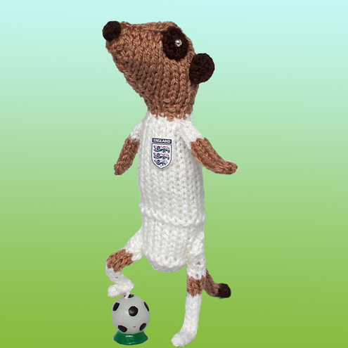 England World Cup Footballer Meerkat