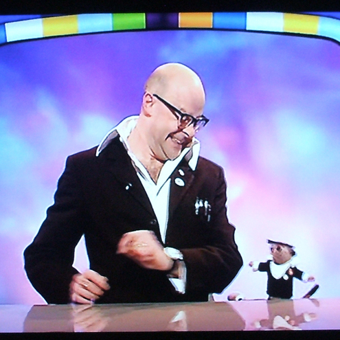 BIG Harry Hill Meerkat as seen on K Factor