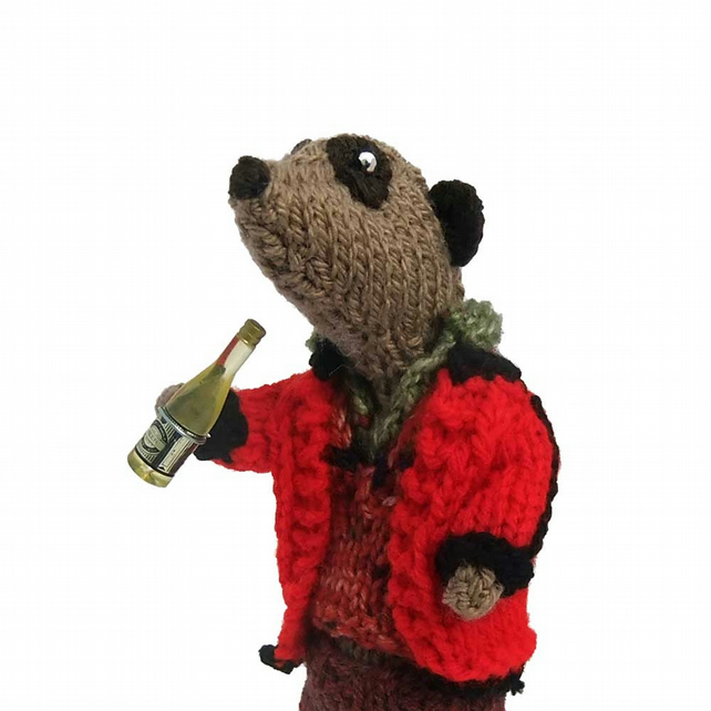 Raj Meerkat, Big Bang theory, scientist, geek, nerd, meercat, knitted animals