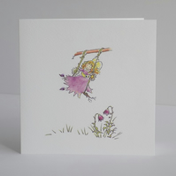 Fairy Swing card