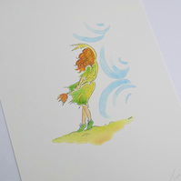 A4 print - 'Fairy Breeze'
