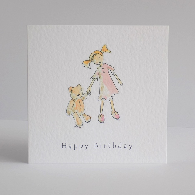 Birthday Card 'Daisy & Ted'