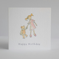 Daisy & Ted Birthday Card