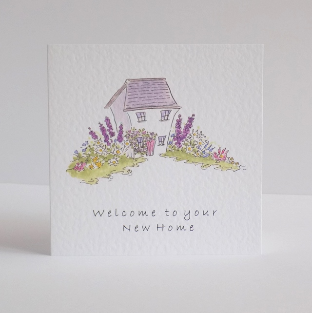 New Home card  'Welcome to your new home'