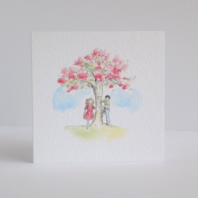 Greeting card - Blossom Tree