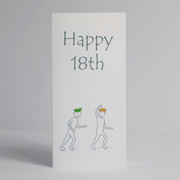18th Birthday Beer Card