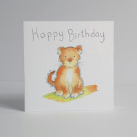 Birthday Card  'Lion cub'