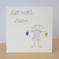 Get Well Soon Eco Friendly Card