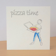 Eco Friendly Card Pizza Time
