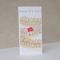 New Home Card 'Happy New Home'