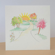 Eco Friendly Card Pathway