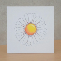 Blank Card ecofriendly  'Daisy'