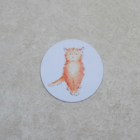 Fridge Magnet 'Cat'