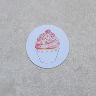 Fridge Magnet 'Cupcake'