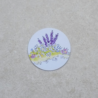 Fridge Magnet 'Flower Garden'