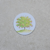 Fridge Magnet 'Apple Tree'