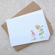 Daisy and Sunflower Postcards (pack of 6)