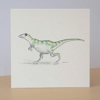 Dinosaur Ecofriendly Blank Card
