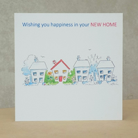 Eco Friendly Happiness New Home Card