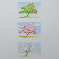 SALE  Art Print  'Cherry Tree'