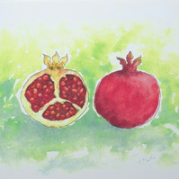 Art Print Still Life  'Pomegranate'