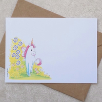 S A L E     Unicorn Postcards (pack of 6)