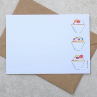S A L E    Cupcake Postcards (pack of 6)