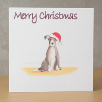 Christmas Card eco  Christmas Dog