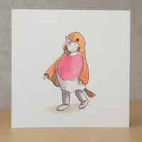 Christmas Card eco  'Christmas Robin'