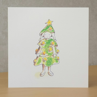 Christmas Card eco  'Little Christmas Tree'