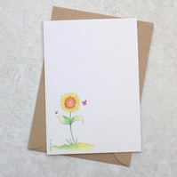 Ecofriendly Sunflower Garden  Postcards (pk of 6)