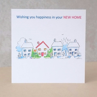 Eco-Friendly Happiness New Home Card