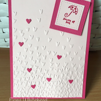 GET WELL GREETINGS CARD, HANDMADE CARD