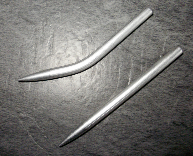Aluminium Paracord Needle X2  for 550 paracord - Paracord FID