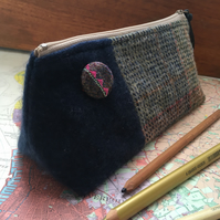 Harris Tweed pencil case