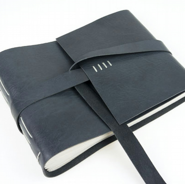Extra Large Bespoke Leather Journal, Sketchbook, Scrapbook, Guest Book A4