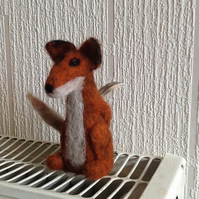 Needle Felt Fox Workshop Saturday 15 November 10.00-16.00
