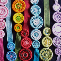 Colour Work with Dorset Buttons Workshop, 14th February 2015, nr Dorchester