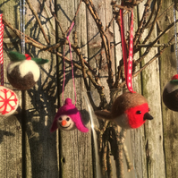 Festive Felt Christmas Tree Decorations Workshop 28 Nov 10.00-16.00
