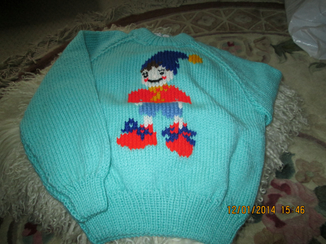 childs picture jumper