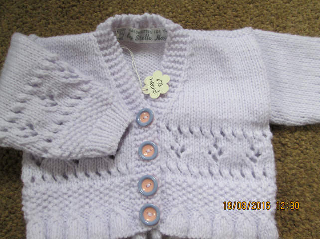 Girls cardigan for premature baby