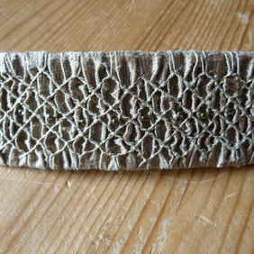 Rosalind Atkins - Smocking and Dorset Buttons on Folksy