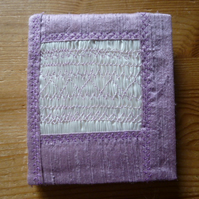 Hand Smocked Lilac Silk Needlecase, N2
