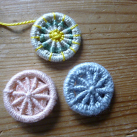 Beginners Dorset Cross Wheel Button Making, Dorchester,  22 January 2020