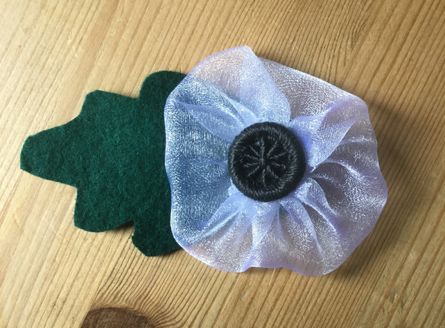 White Poppy for Peace Kit