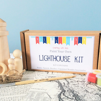 Paint Your Own Lighthouse Kit