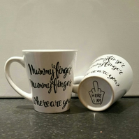 Mummy Finger, Mummy Finger, Where are you? - Mug