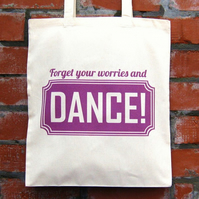 Dance Cotton Tote Bag - ON SALE