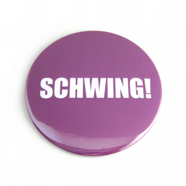 Schwing! Pocket Mirror