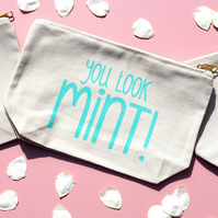 You Look Mint Make-Up Bag